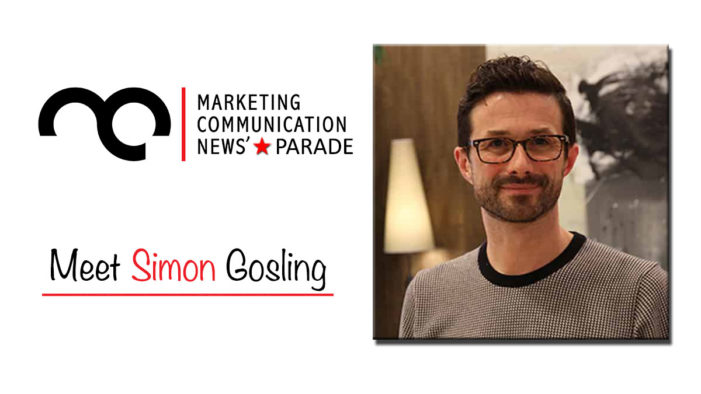 MarComm's Star Parade: Meet Simon Gosling