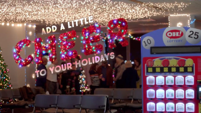 The Ohio Lottery teams with Marcus Thomas to launch new holiday campaign