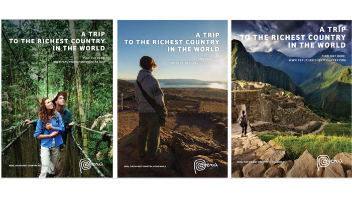 Peru Unveils New 'Peru, the Richest Country in the World' Marketing Campaign at WTM 2017