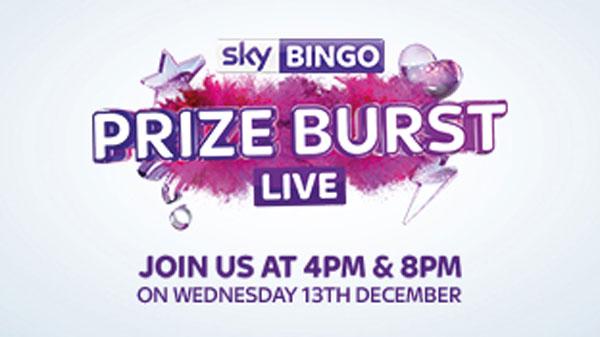 bigdog Launches 'Prize Burst' Facebook Live giveaway for Sky Bingo