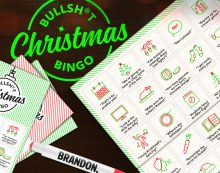 Enjoy some old chestnuts with Brandon's Bullsh*t Bingo this Christmas