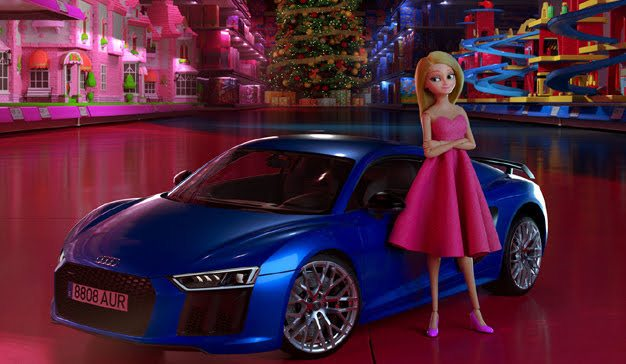 Audi and Proximity Barcelona transform a fairy tale heroine into a race car driver in new short film