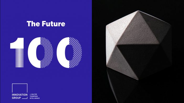 J. Walter Thompson's Innovation Group Forecasts the 100 Trends Shaping the Future