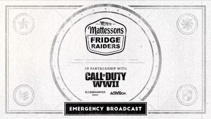 Fridge Raiders and Saatchi & Saatchi Team for Call of Duty WWII Promotion