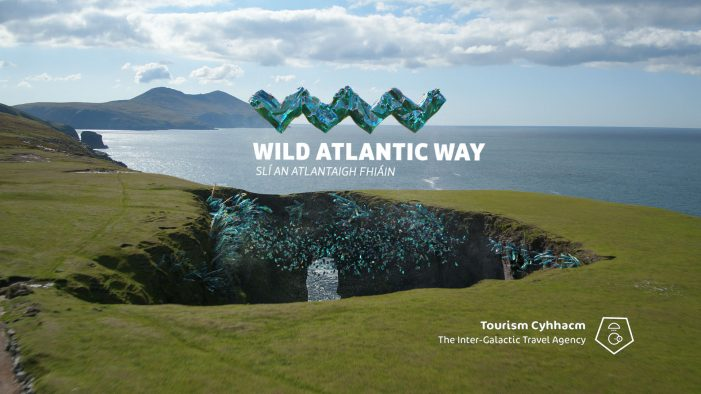 The West of Ireland Gets Alien Endorsement in Otherworldly Travel Advert