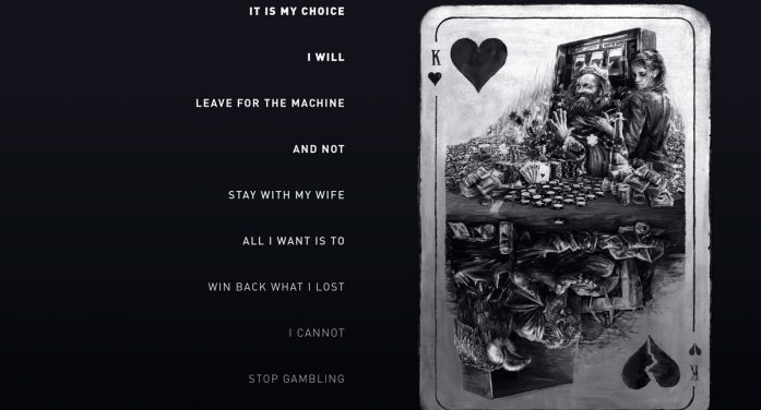Serviceplan create Blue Cross 'Reverse Poems' print campaign to address addiction