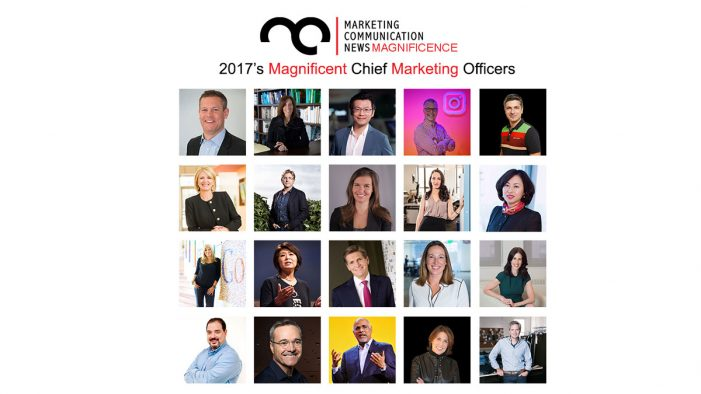 MarComm's Magnificence – 2017's Magnificent Chief Marketing Officers