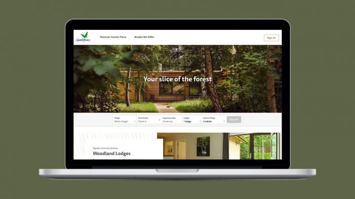 Code Computerlove helps Center Parcs revamp their online booking system