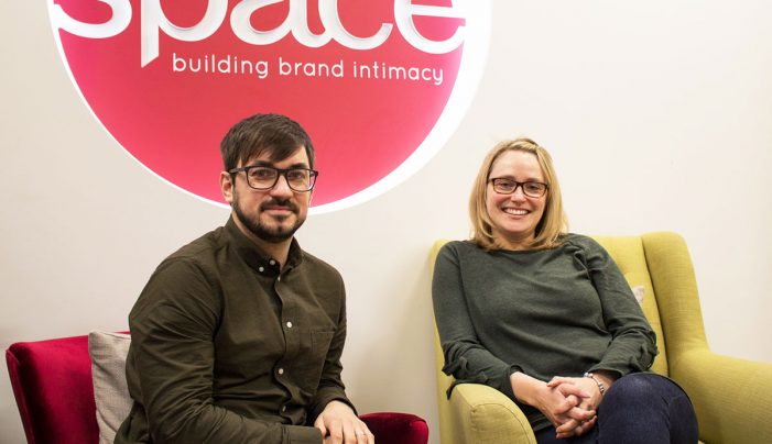 Space appoints Cat Kempsell and Sam Pepper as Creative Group Heads