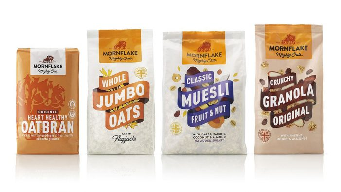 B&B Studio Rebrand for Mornflake Reflects Strength of the 'Mighty Oats'