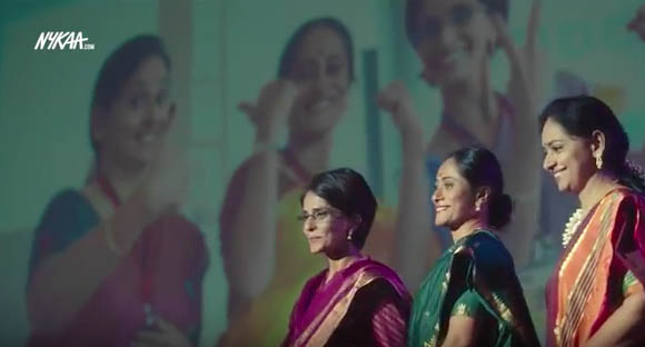 It's looking good for Indian women in Nykaa's first TVC by Mullen Lintas
