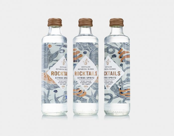 B&B Studio Delivers Sophisticated Identity for the Launch of ROCKTAILS Botanical Blends