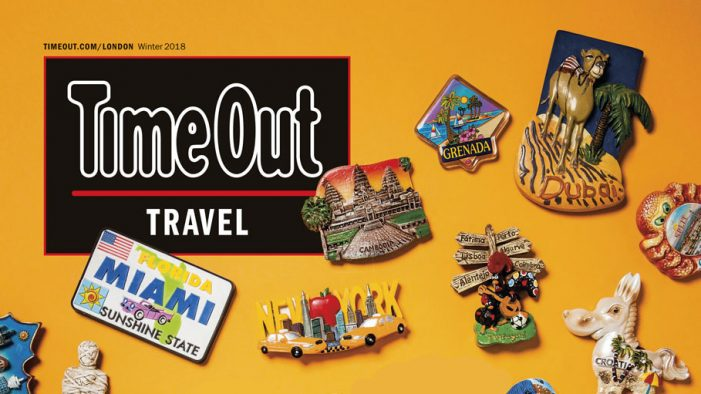 Time Out launches first standalone travel magazine as part of Marriott Rewards Moments campaign