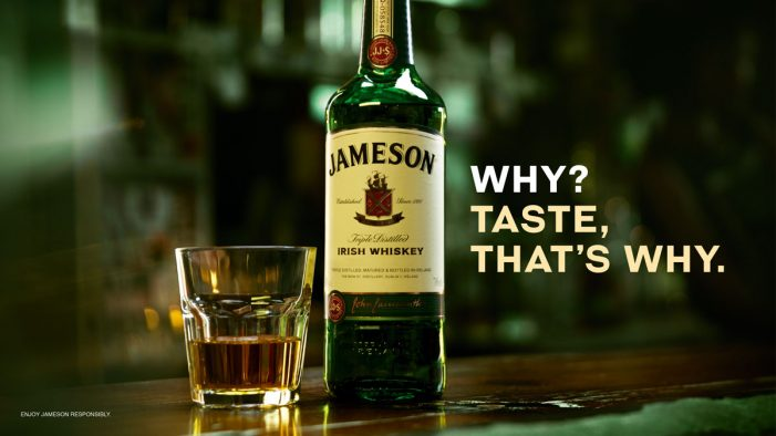 Jameson Puts 'Taste' Centre-Stage in New Global Campaign by TBWA Dublin