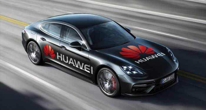 HUAWEI unveils first car to be driven by AI powered Mate 10 Pro