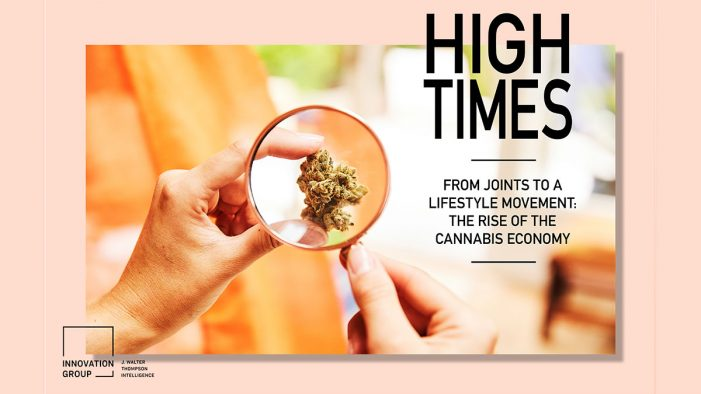 High Times Ahead for Marketers in Cannabis Economy, J. Walter Thompson Report Suggests