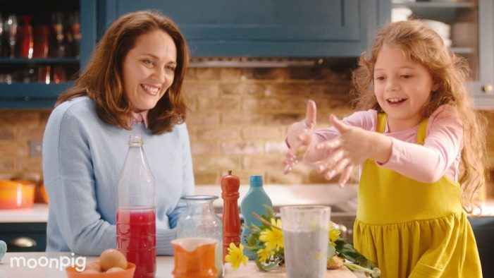Moonpig highlights magic of Mother's Day in new TV campaign by Quiet Storm