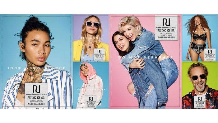 Studio Blvd. and River Island create provocative campaign for its SS18 collection