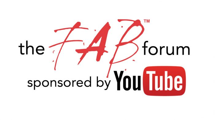 YouTube to Partner with The 20th FAB Awards and The FAB Forum