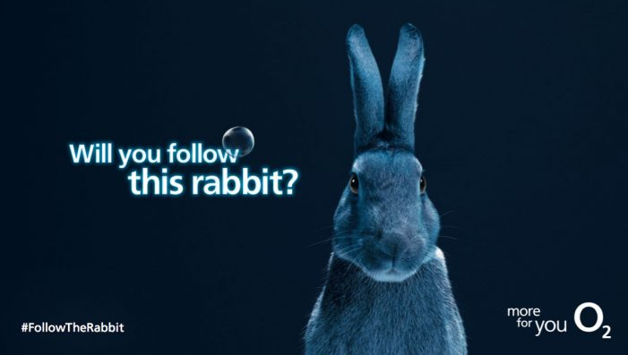 O2 promotes live music in new #FollowTheRabbit campaign by VCCP