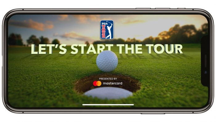 PGA Tour team with Mastercard to introduce a new live augmented reality app