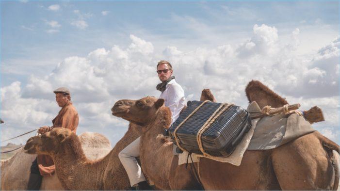 Alexander Skarsgård is a Globetrotting Spy in Tumi's Haute New Luggage Ad