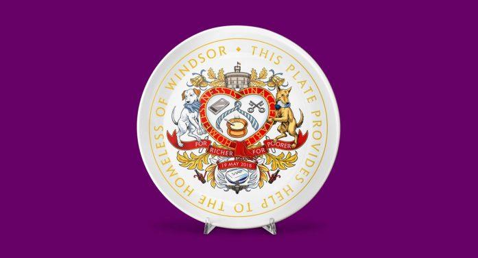 JKR and Revolt release royal wedding commemorative range for non-profit brand For Richer, For Poorer