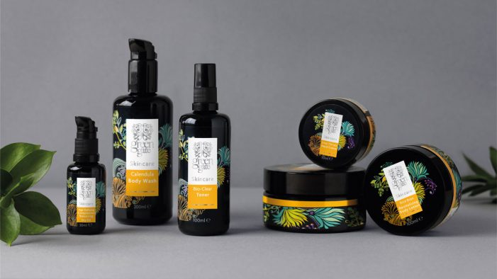 Parker Williams designs for new high end beauty brand – Green Gate