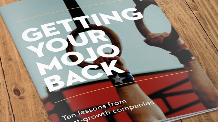 Getting Your Mojo Back – Ten Lessons from Fast-Growth Companies Revealed in isobel's Report