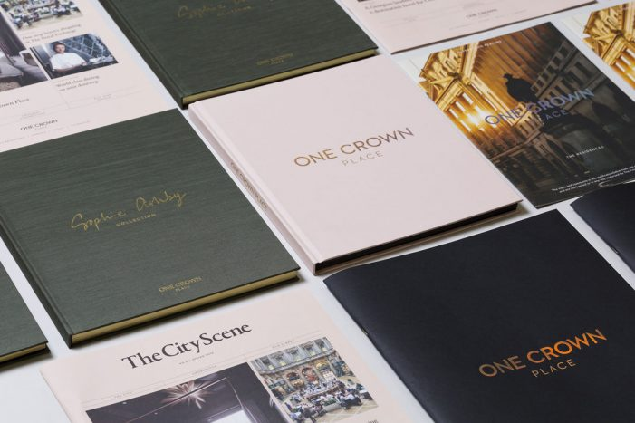 me&dave throws new light on City living with One Crown Place branding