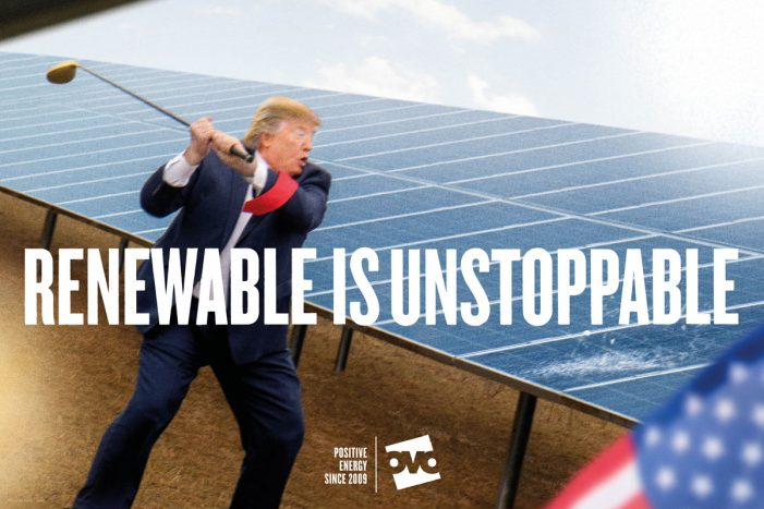 OVO Energy takes swing at Donald Trump in second phase of Uncommon's campaign