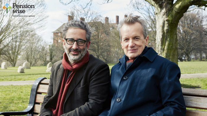 Sky reunites comic duo Baddiel and Skinner for Pension Wise