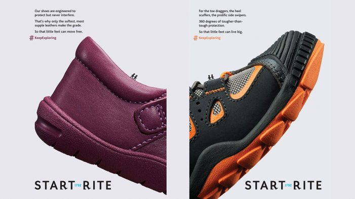 Start-Rite Shoes Puts the Product Front and Centre in a Fresh Print and Digital Campaign