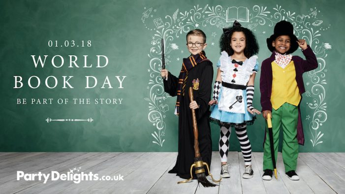 seventy7 launch world book day campaign for Party Delights