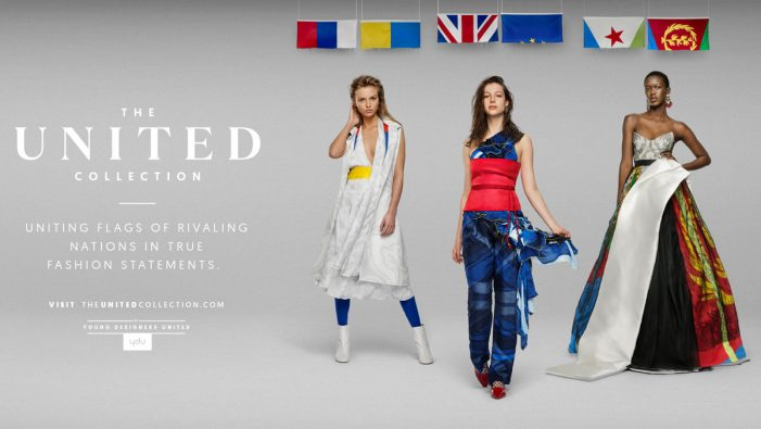JWT Amsterdam and Young Designers United promote peace with 'The United Collection' launch