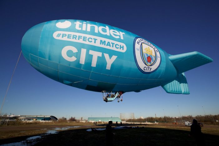 Tinder signs multi-year partnership with Manchester City