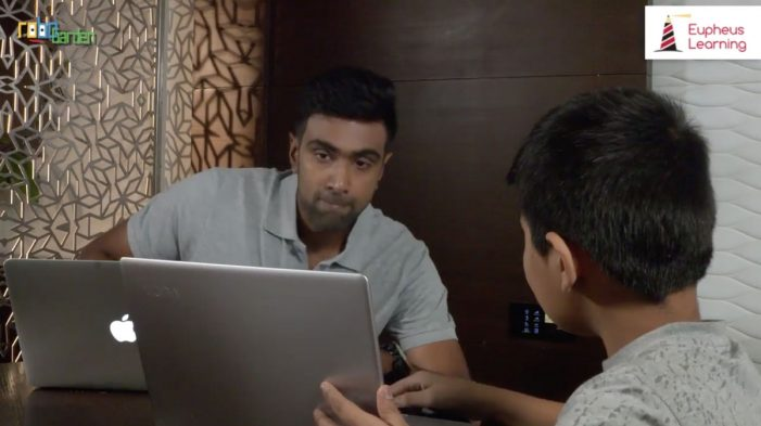 R Ashwin endorses coding literacy in kids in association with Eupheus Learning