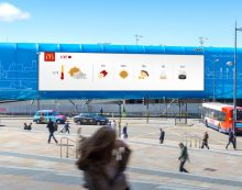 McDonald's Launches Weather-Reactive Outdoor Campaign by Leo Burnett London