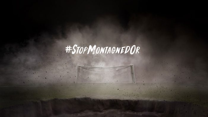 WWF France launches #StopMontagnedOr campaign fronted by French Footballer Ibrahim Cissé