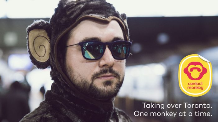 Cheeky Office Worker Pulls Pranks in the Concrete Jungle for ContactMonkey