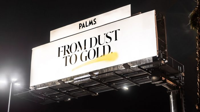 """Palms Casino Resort unveils """"From Dust to Gold"""" campaign by AKQA"""
