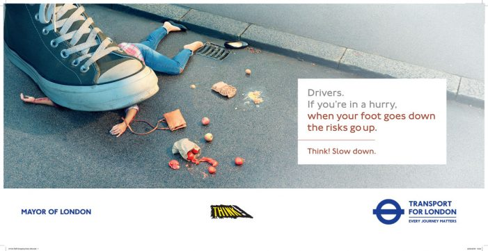 New Road Danger Reduction Campaign from Transport for London has Launched