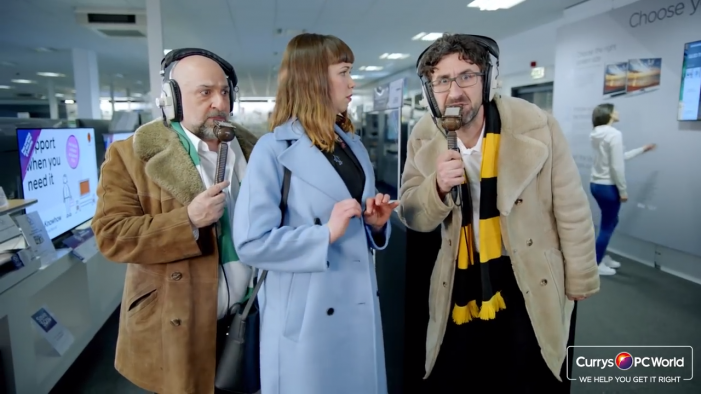 Currys PC World launches major new football ad campaign to support 'Get Your TV For Free' giveaway