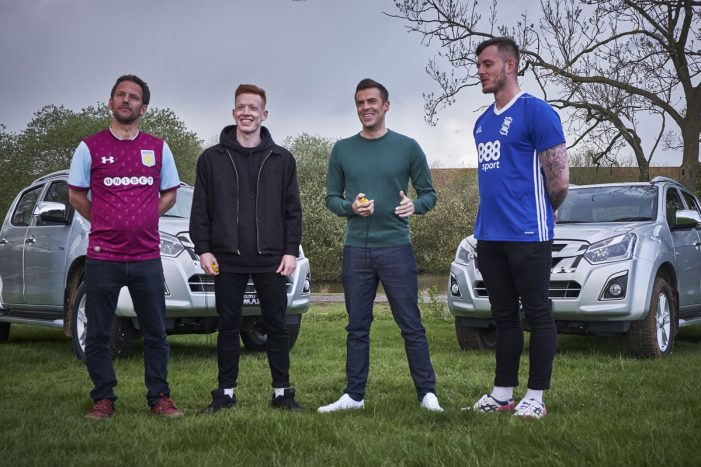 Isuzu teams up with Sky Sports and Football Daily to drive brand awareness amongst Football fans