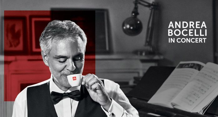 """illy Pays Tribute to the Timeless Art of Andrea Bocelli in New """"LIVEHAPPilly"""" Campaign"""