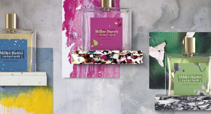 jones knowles ritchie interprets urban foraging for Miller Harris' latest fragrances