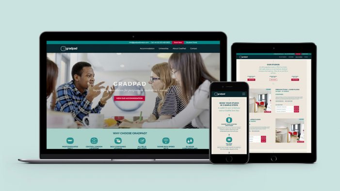 Mr B & Friends launches bespoke website for graduate accommodation provider GradPad