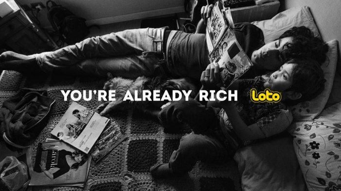 "Y&R Santiago unveils emotive ""You're Already Rich"" campaign for Loto Chile"