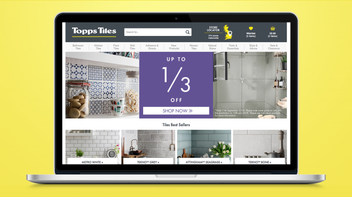 Topps Tiles appoints Code Computerlove for performance programme