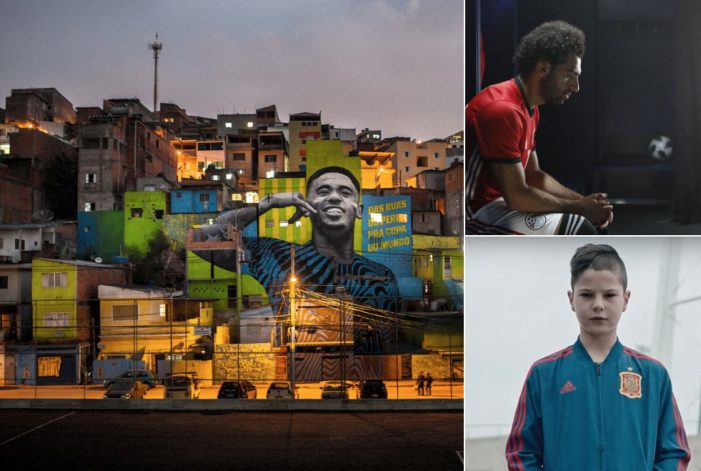 Iris unveils a hat trick of social film for adidas' #HereToCreate World Cup campaign